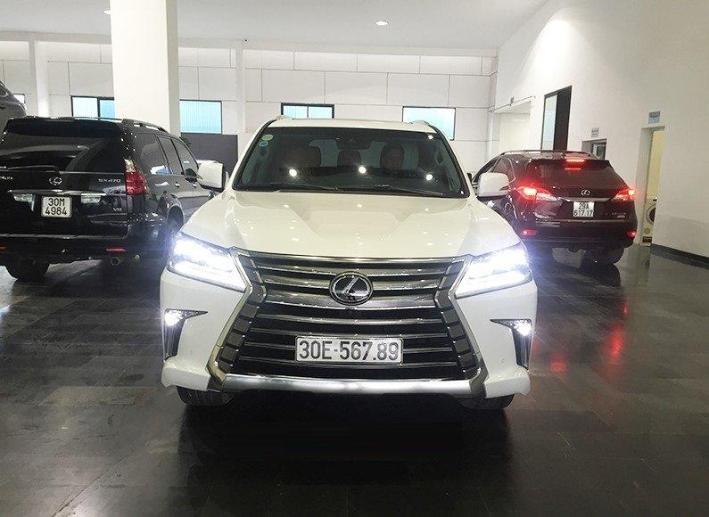 Đại gia Việt: Chơi xe Lexus LX570 đẳng cấp phải kèm biển siêu đẹp a2