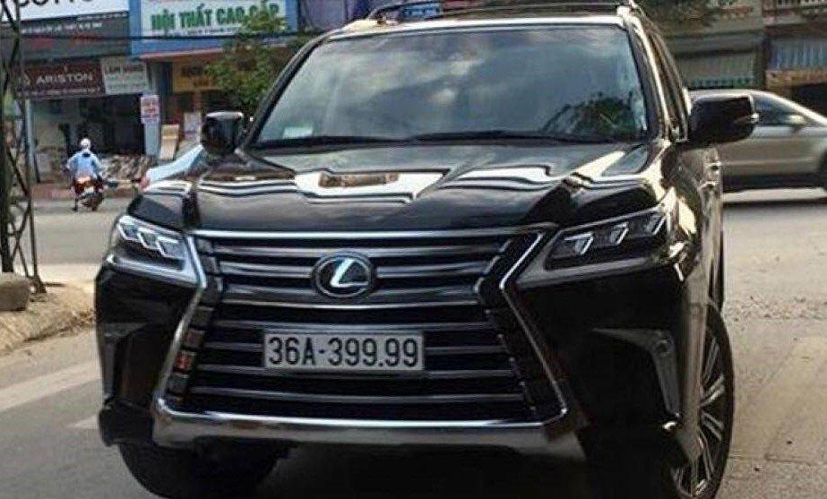 Đại gia Việt: Chơi xe Lexus LX570 đẳng cấp phải kèm biển siêu đẹp a17
