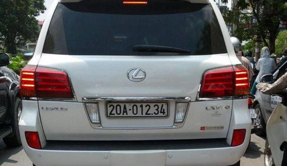 Đại gia Việt: Chơi xe Lexus LX570 đẳng cấp phải kèm biển siêu đẹp a14