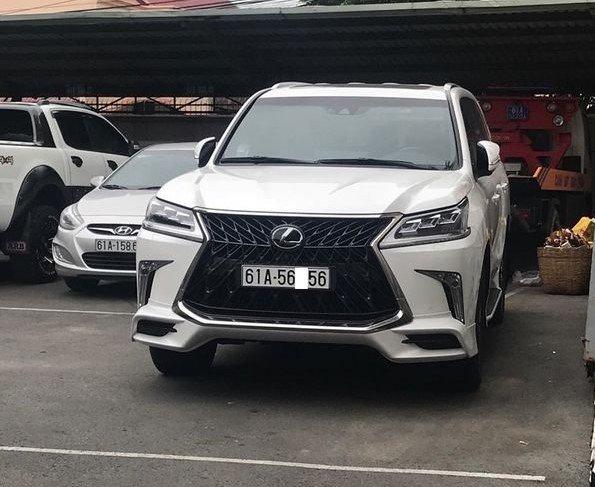 Đại gia Việt: Chơi xe Lexus LX570 đẳng cấp phải kèm biển siêu đẹp a19