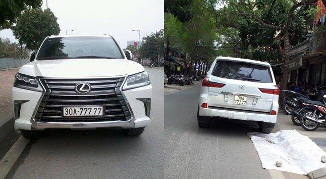 Đại gia Việt: Chơi xe Lexus LX570 đẳng cấp phải kèm biển siêu đẹp a10