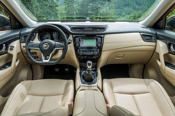 Nội thất và tiện nghi xe Nissan X Trail