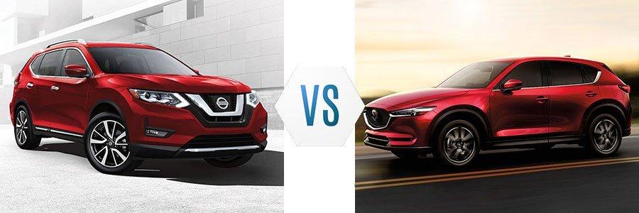 So sánh xe Nissan X-Trail và Mazda CX-5 2019
