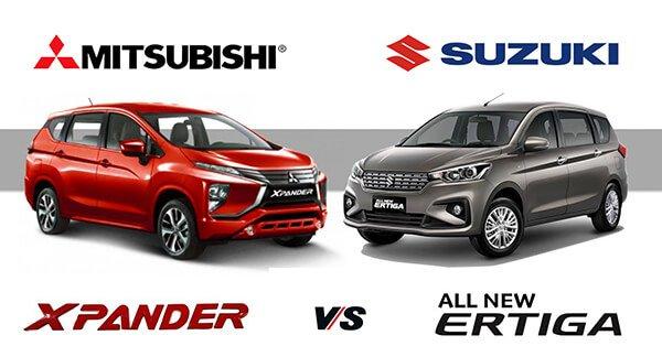 So sánh Suzuki Ertiga và Mitsubishi Xpander