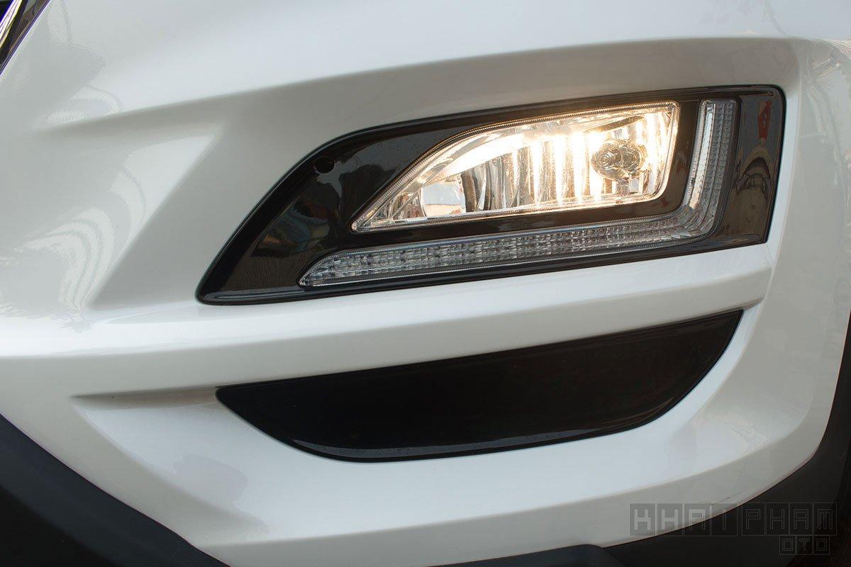 Ảnh chụp đèn sương mù xe Hyundai Tucson 2020