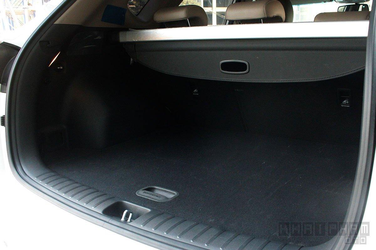 Ảnh chụp khoang hành lý xe Hyundai Tucson 2020