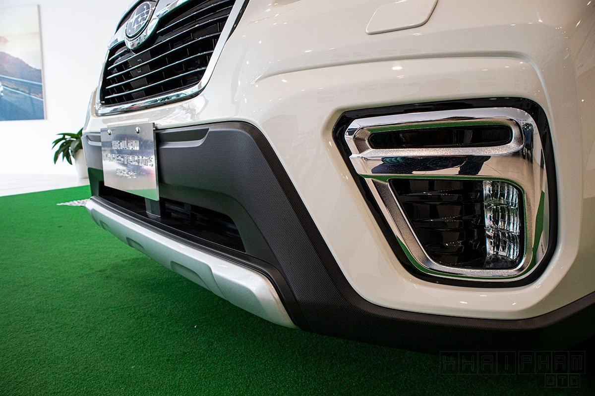 Ảnh chụp cản trước xe Subaru Forester 2020