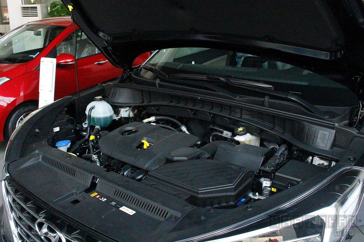 Ảnh chụp Động cơ xe Hyundai Tucson 2020
