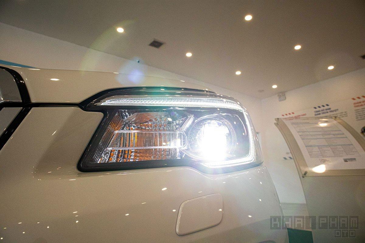 Ảnh chụp đèn pha xe Subaru Forester 2020