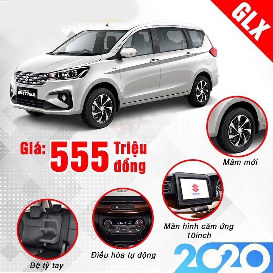 Suzuki Ertiga 2020 về nước, bổ sung thêm trang bị mới, giá tăng.