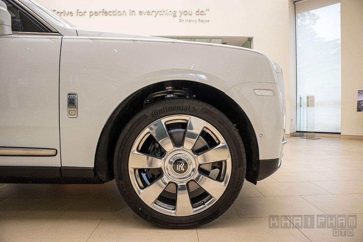 Mâm xe Rolls-Royce Cullinan