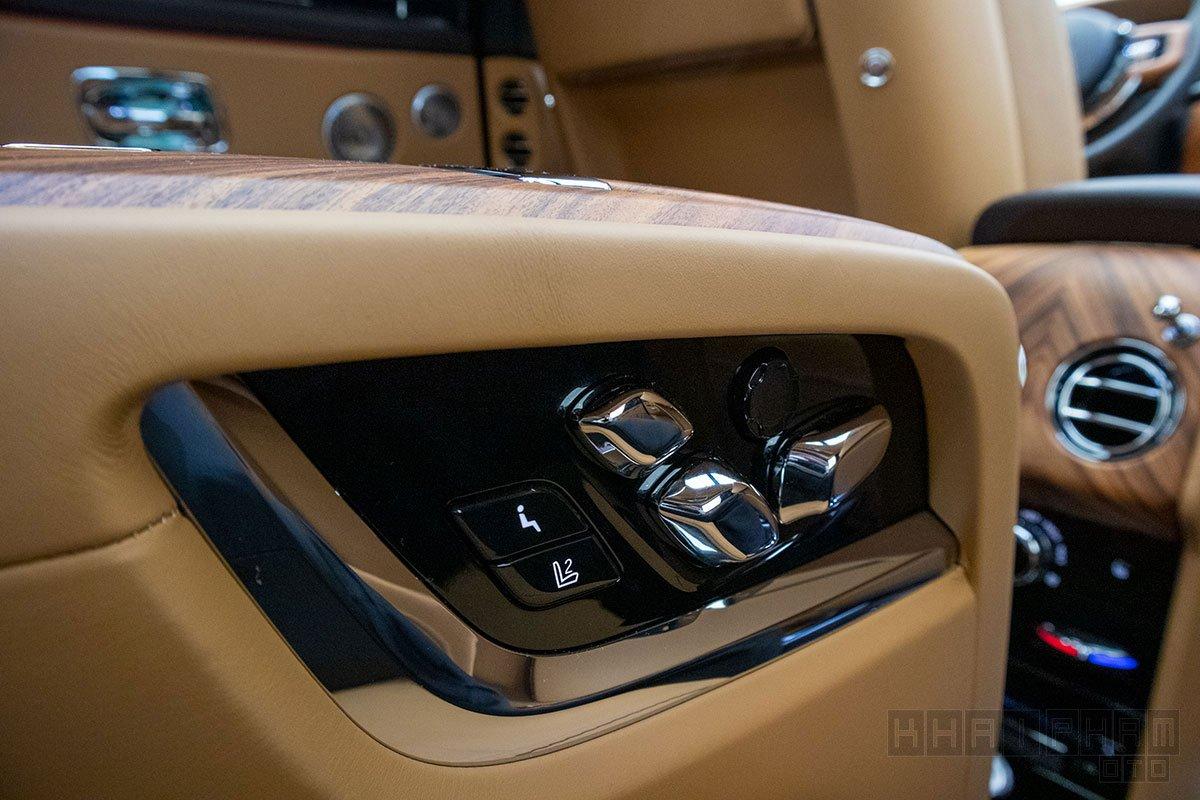 Điều khiển hàng ghế sau xe Rolls-Royce Cullinan