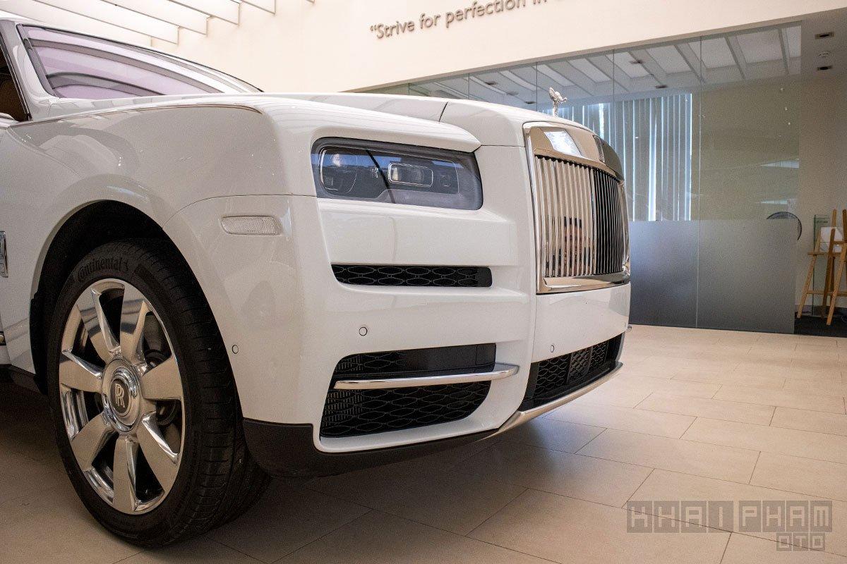 Hình ảnh đầu xe Rolls-Royce Cullinan