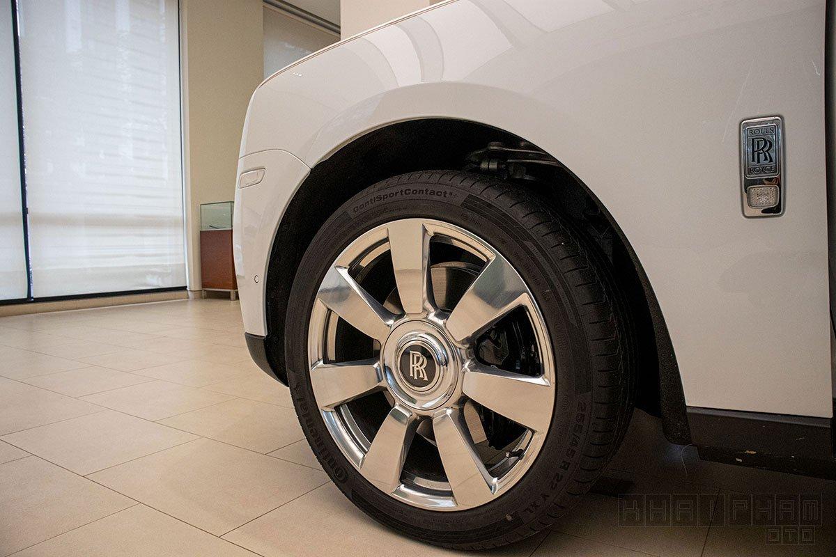 La-zăng xe Rolls-Royce Cullinan