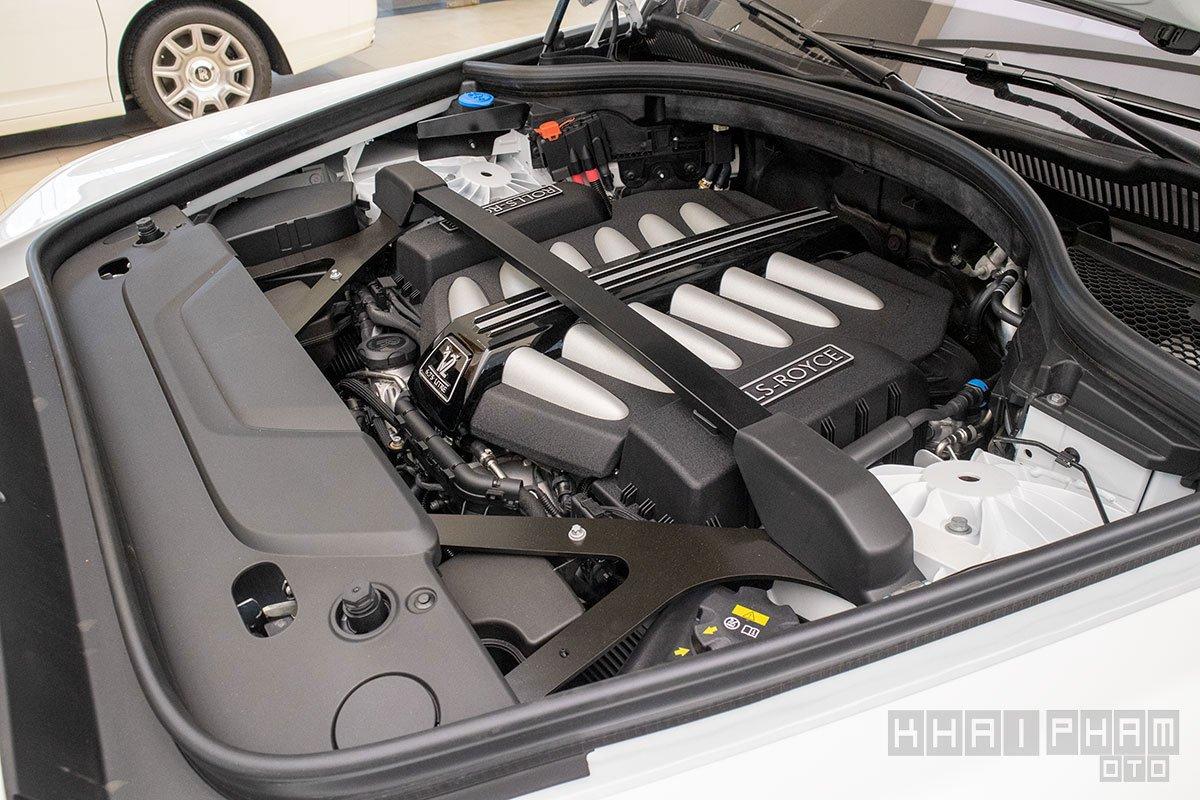 động cơ xe Rolls-Royce Cullinan
