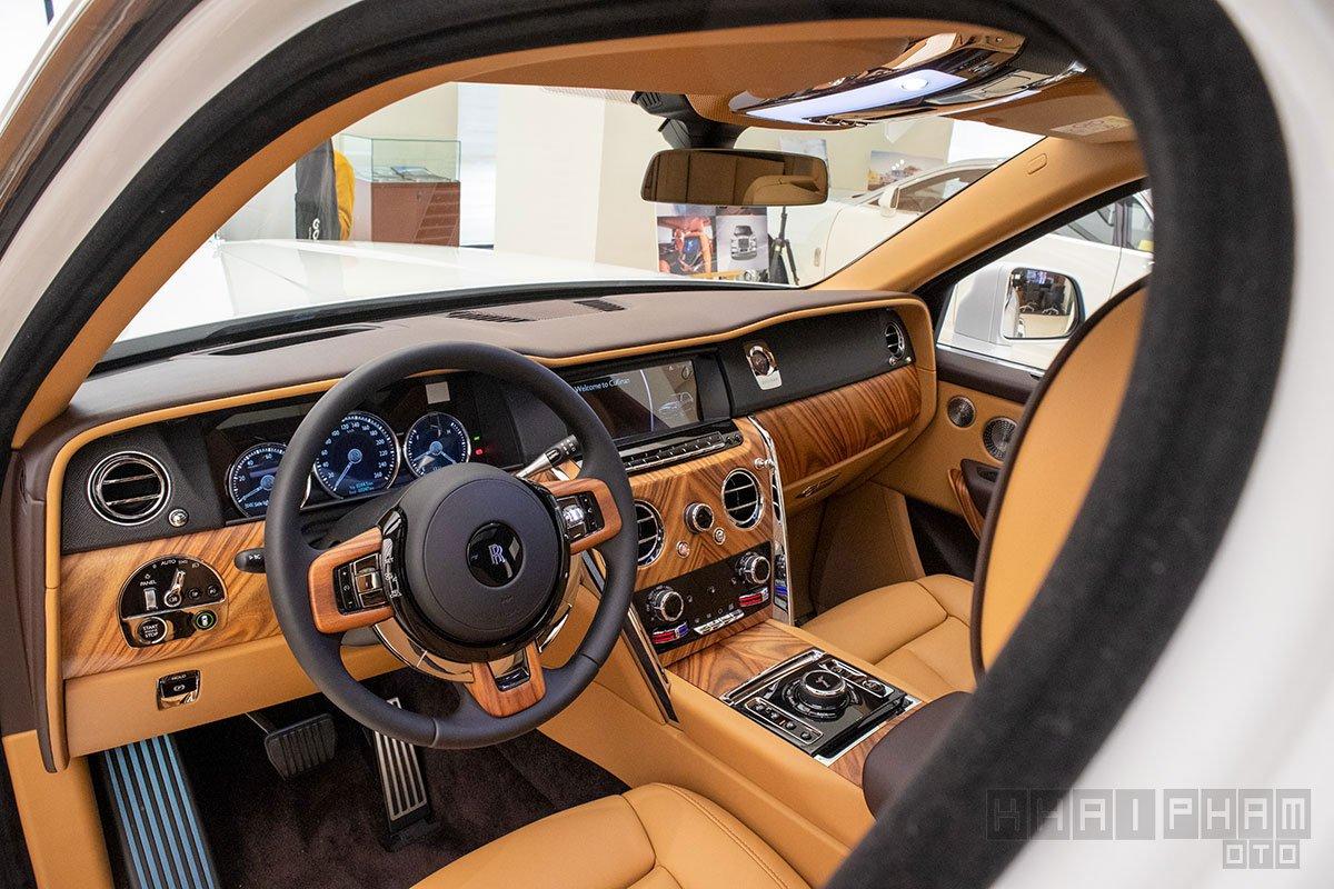 Nội thất xe Rolls-Royce Cullinan