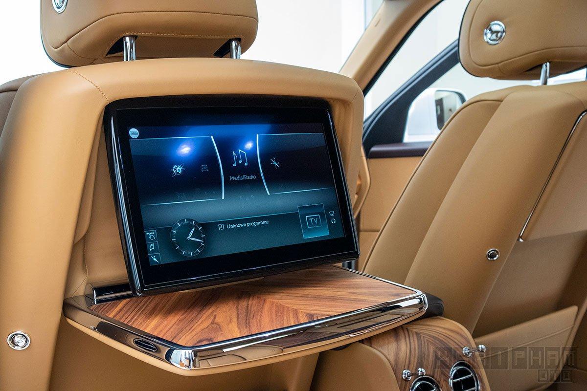 Màn hình giải trí xe Rolls-Royce Cullinan