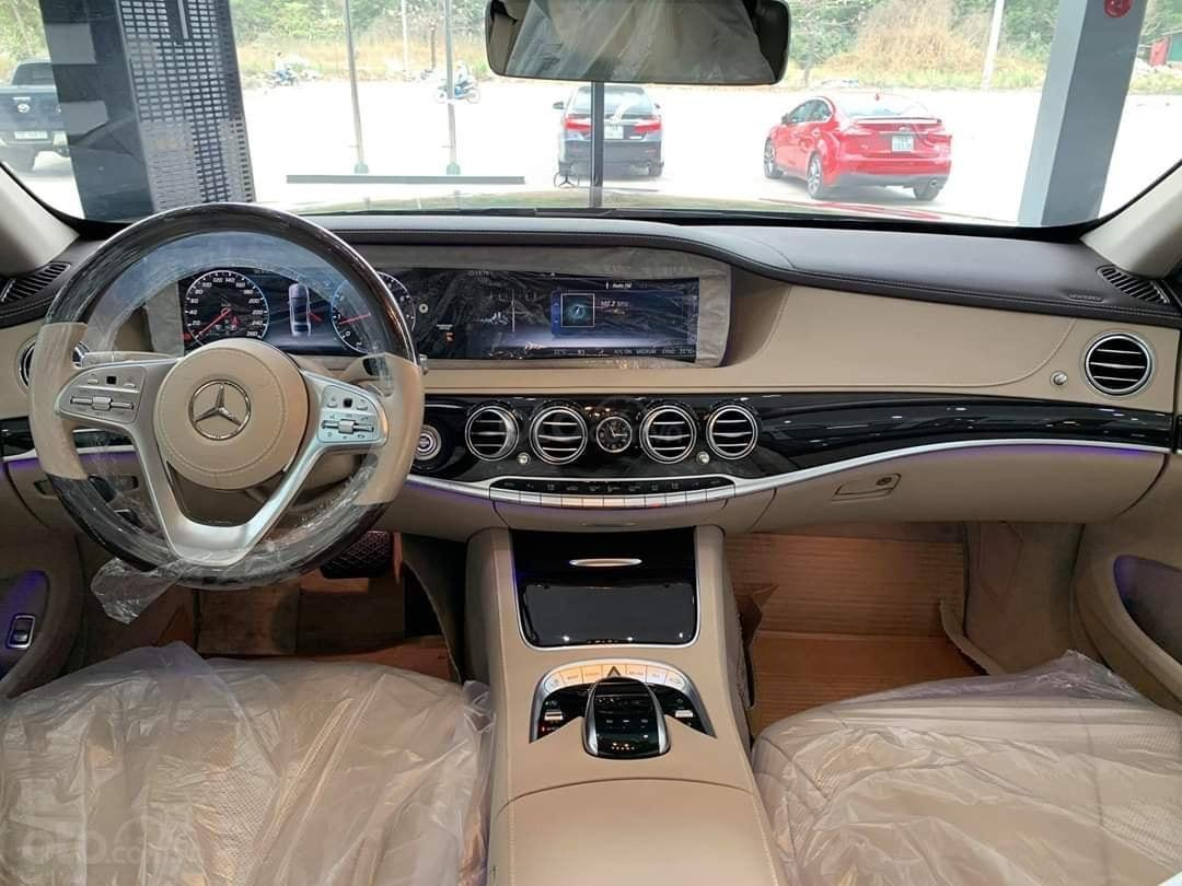 Bán Mercedes S450 2020 màu Ruby chính chủ siêu lướt tiết kiệm hơn mua xe mới 800tr (6)