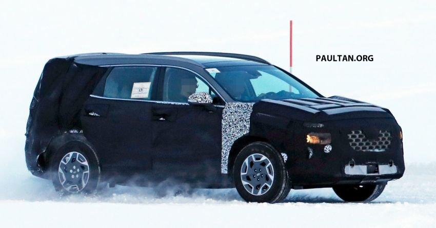 Hyundai Santa Fe 2020 nâng cấp sẽ có biến thế mới?