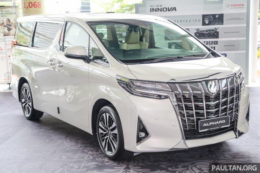 Toyota Alphard 2020 và Vellfire 2020 sẽ không thay đổi nhiều về ngoại hình