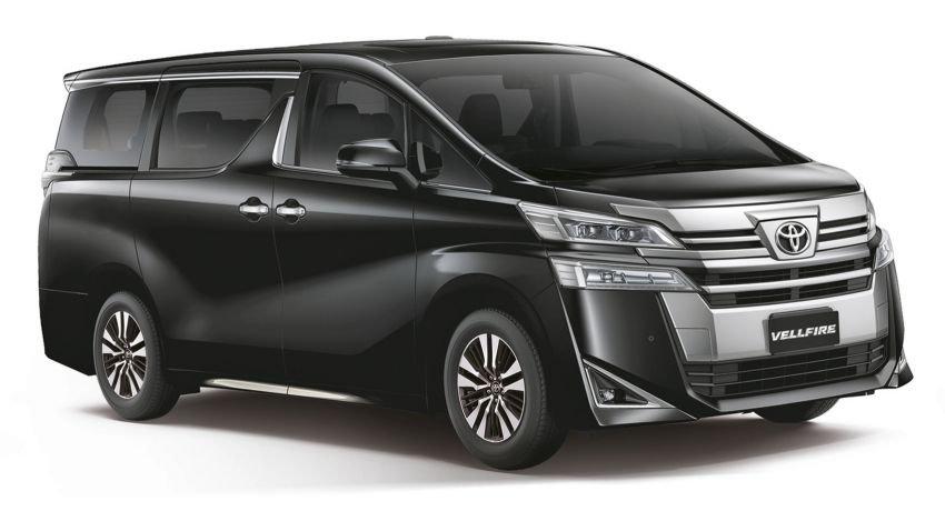 Toyota Alphard 2020 và Vellfire 2020 sắp mở lịch đặt trước