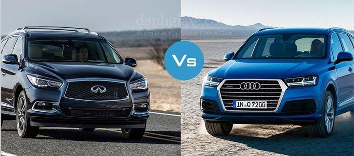 So sánh AUDI Q7 với đối thủ INFINITI QX60
