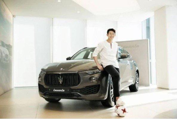 Bộ sưu tập xe hơi thuộc hàng khủng của ngôi sao bóng đá Son Heung-min a5