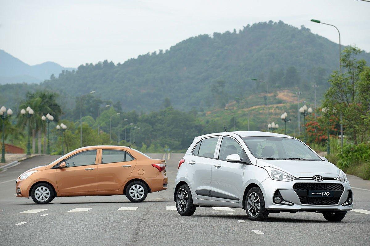Hyundai Grand i10 vẫn là mẫu xe bán chạy nhất phân khúc xe hạng A tại Việt Nam.