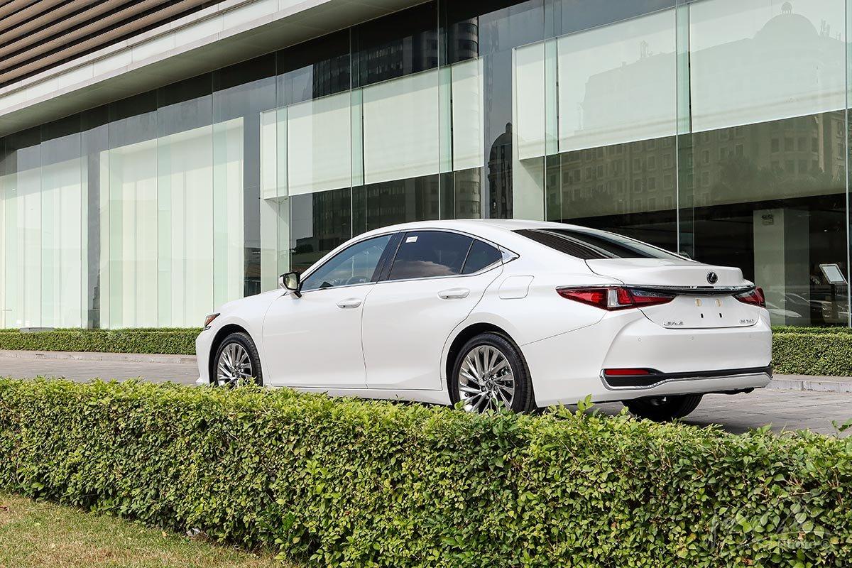 Đánh giá xe Lexus ES 250 2020: Đuôi xe phảng phất hình ảnh thể thao của chiếc Lexus GS.