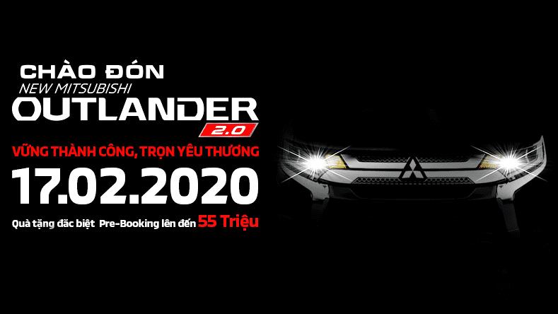Mitsubishi Outlander 2020 chốt lịch ra mắt tại Việt Nam 17/02 1