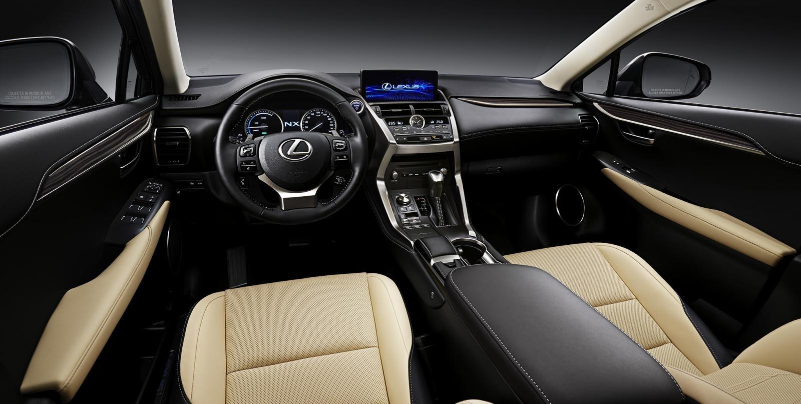 Khoang nội thất thể hiện đẳng cấp của dòng xe sang của Lexus NX 300 2020 1