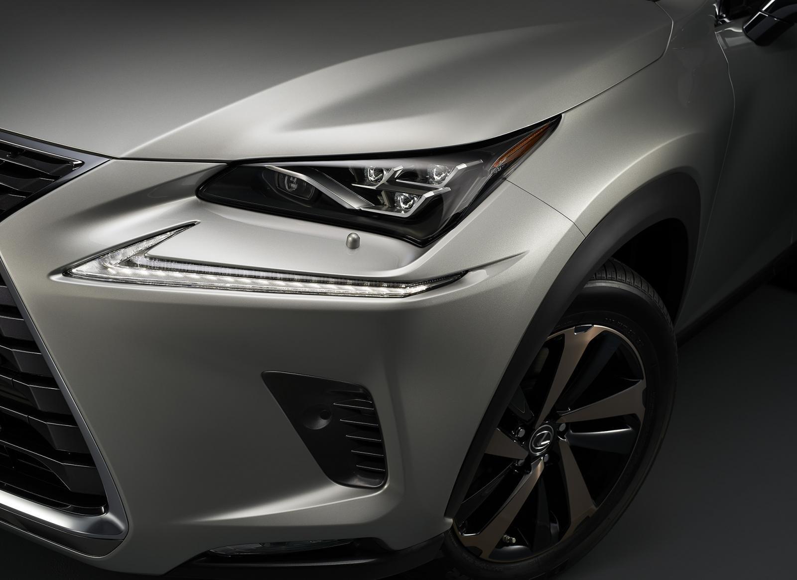 Lexus NX 300 2020 không thay đổi về mặt ngoại hình 1