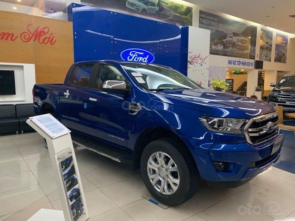 Bán xe Ford Ranger năm sản xuất 2020, màu xanh lam, 799tr (1)