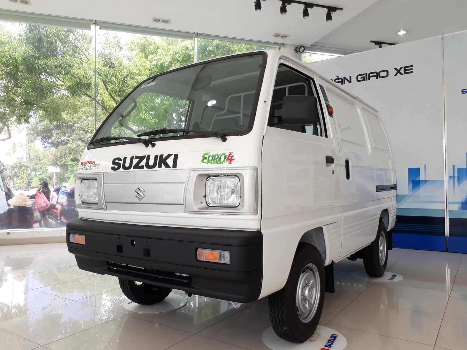 Xe tải Suzuki Blind Van 2020 chạy giờ cao điểm, giá ưu đãi 50% thuế trước bạ (1)