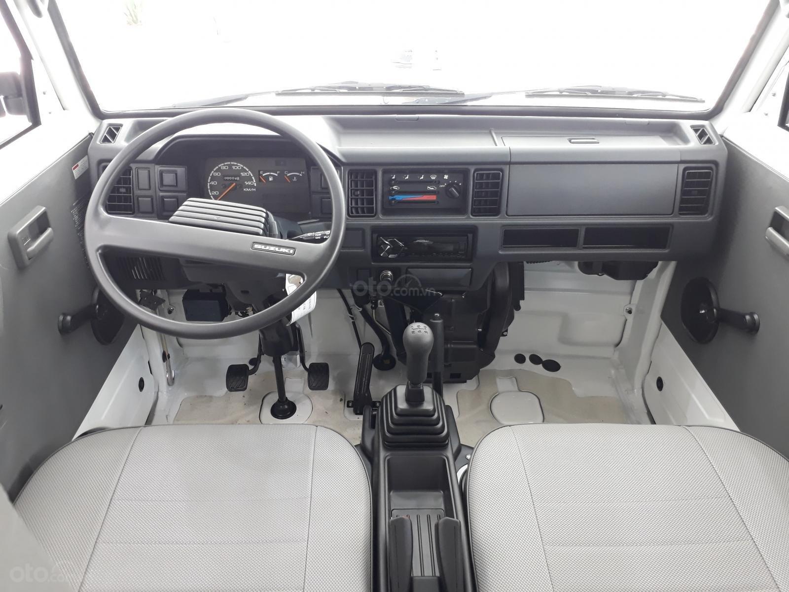 Xe tải Suzuki Blind Van 2020 chạy giờ cao điểm, giá ưu đãi 50% thuế trước bạ (4)
