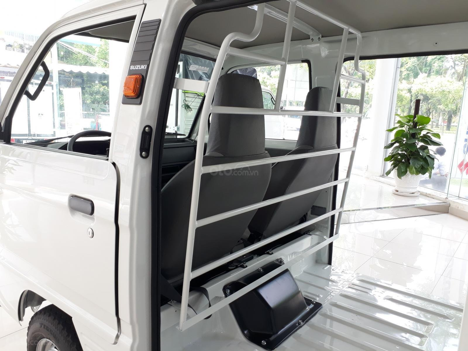 Xe tải Suzuki Blind Van 2020 chạy giờ cao điểm, giá ưu đãi 50% thuế trước bạ (7)