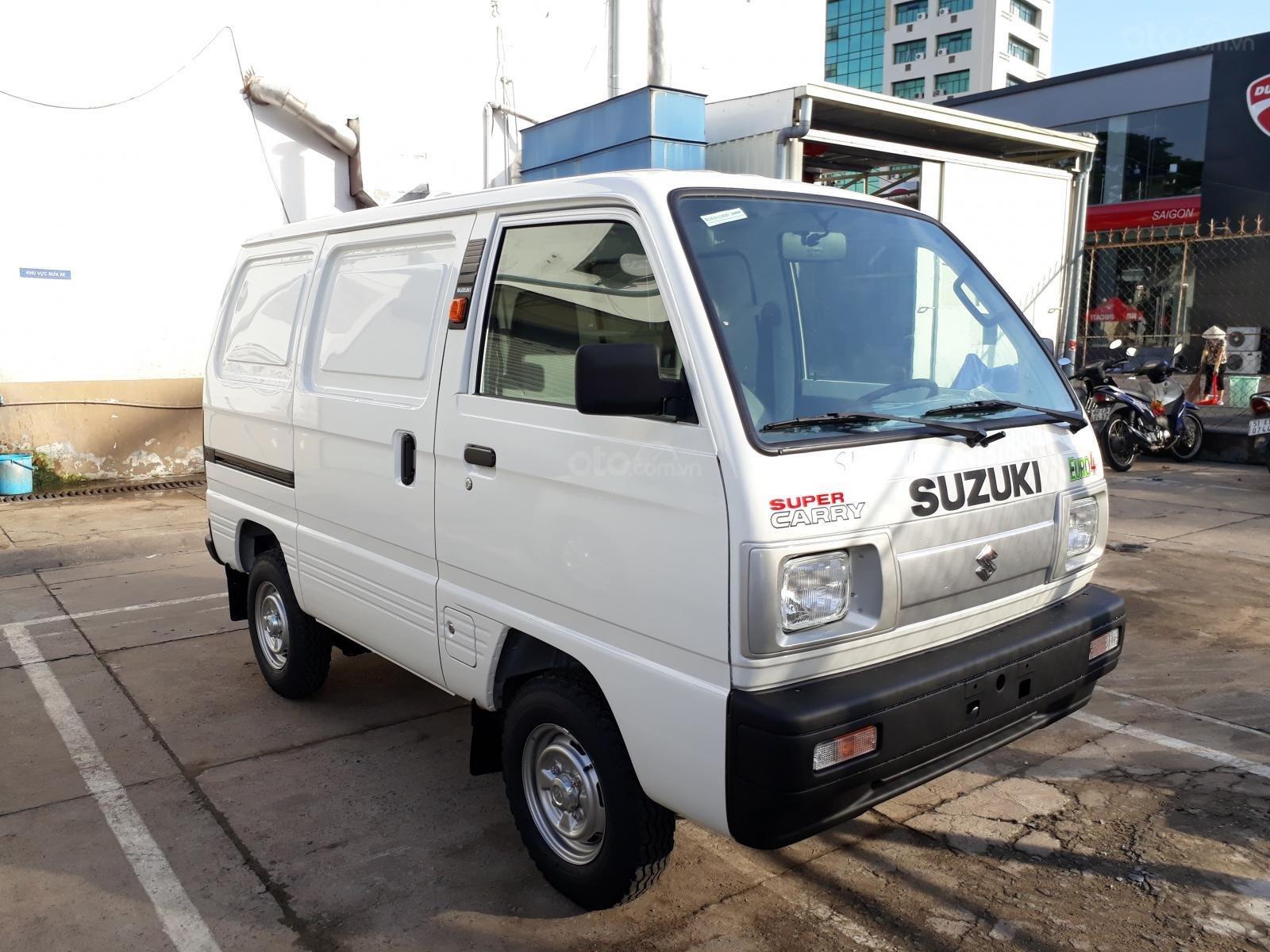 Xe bán tải Suzuki Blind Van lưu thông 24/24, ưu đãi 100% thuế trước bạ (1)