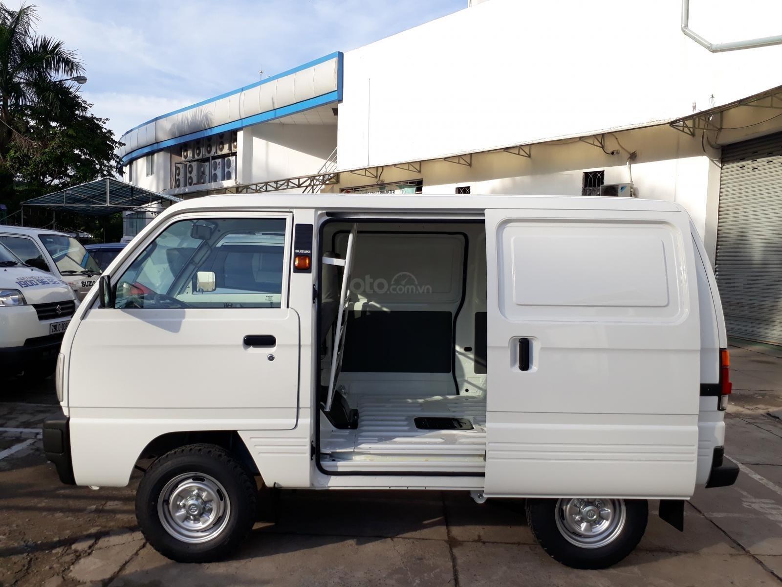 Xe bán tải Suzuki Blind Van lưu thông 24/24, ưu đãi 100% thuế trước bạ (2)
