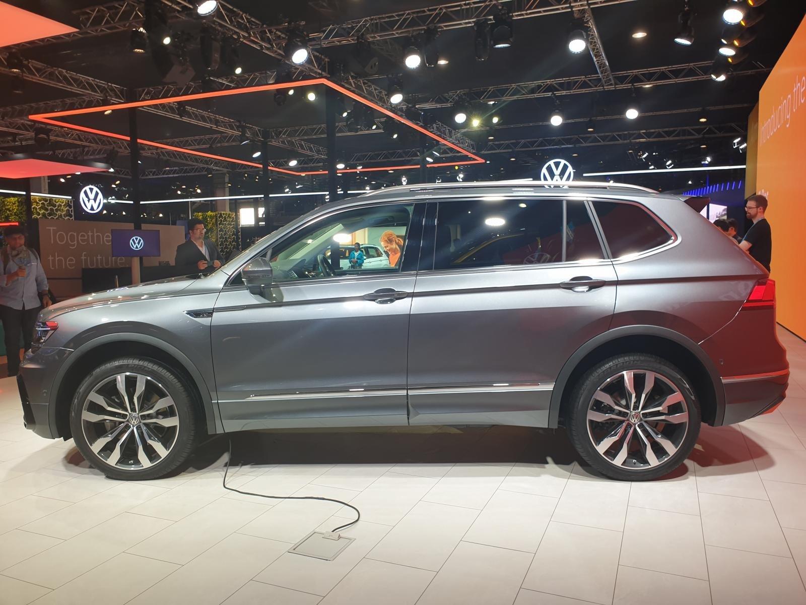 [Auto Expo 2020] Volkswagen Tiguan 2020 Allspace cực dài