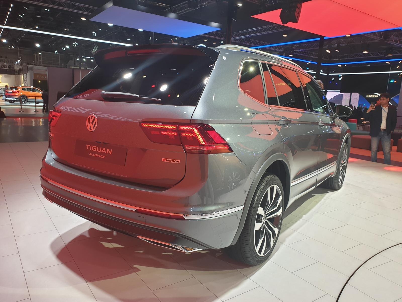 [Auto Expo 2020] Volkswagen Tiguan 2020 Allspace mở rộng