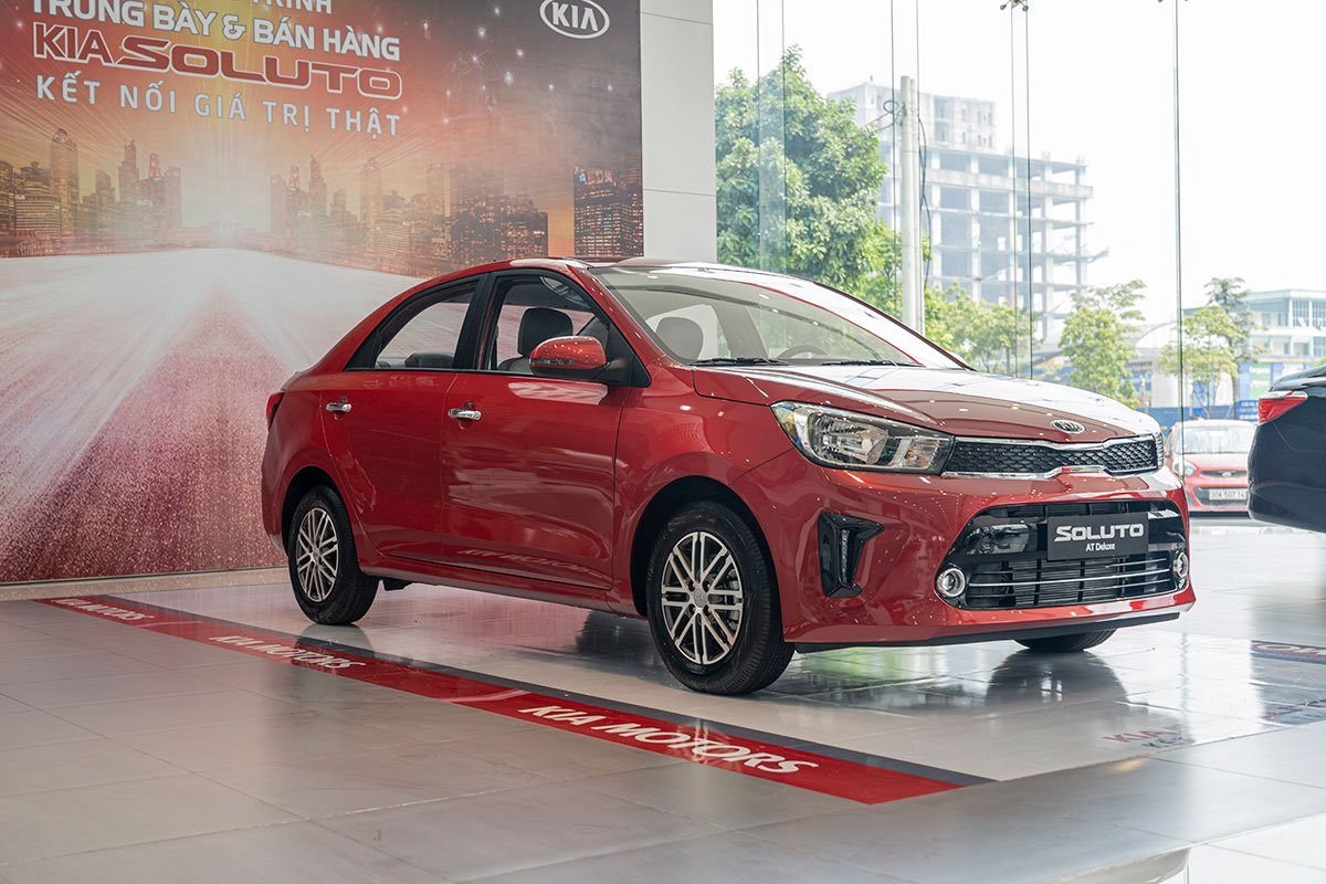 Kia Soluto mới gia nhập thị trường ô tô Việt Nam vào tháng 09/2019 1