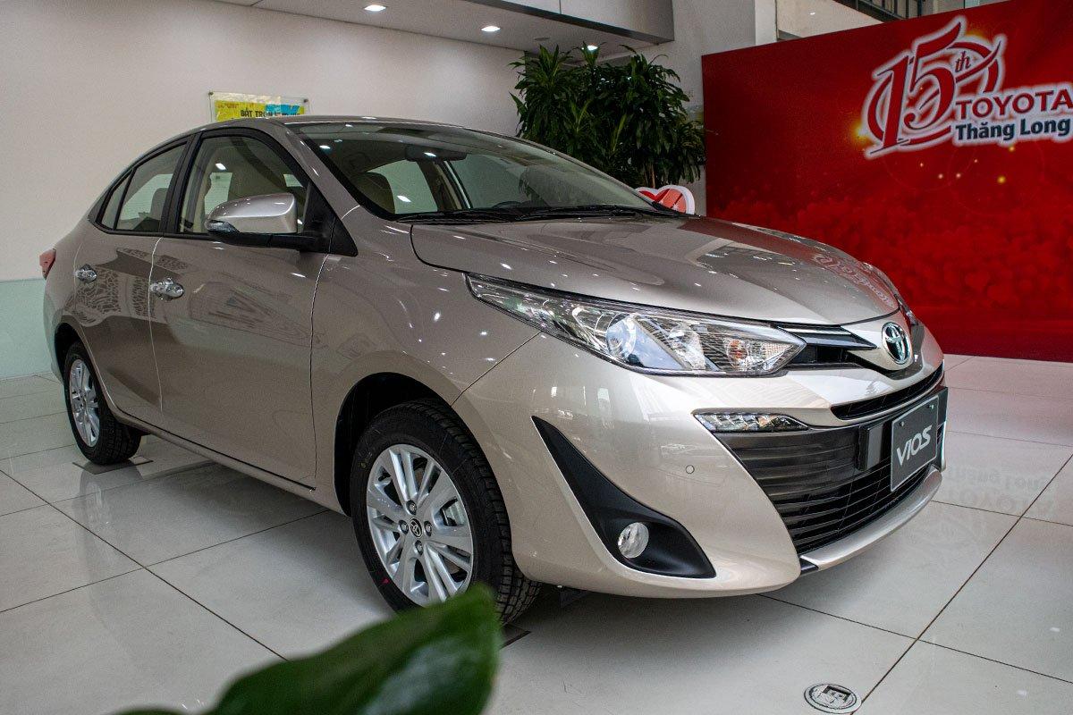 Toyota Vios mới nâng cấp và bổ sung phiên bản mới hồi đầu tháng 01/2020 1