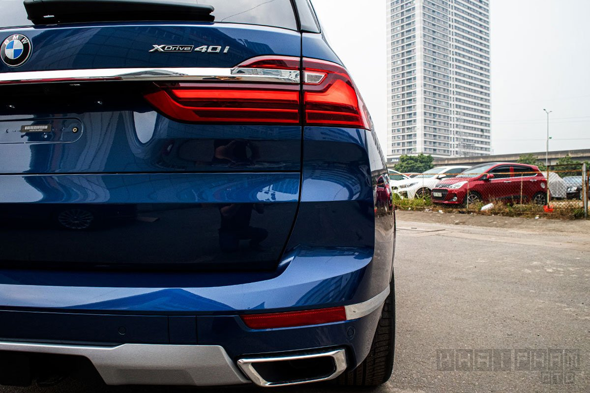 Hình ảnh đèn hậu xe BMW X7 2019-2020