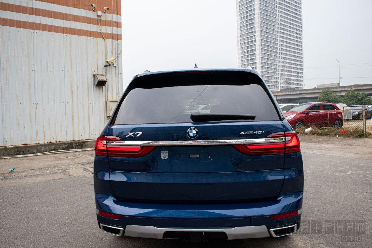 Hình ảnh đuôi xe BMW X7 2019