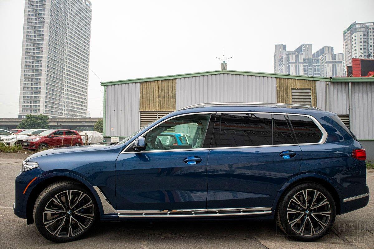 Hình ảnh thân xe BMW X7 2019