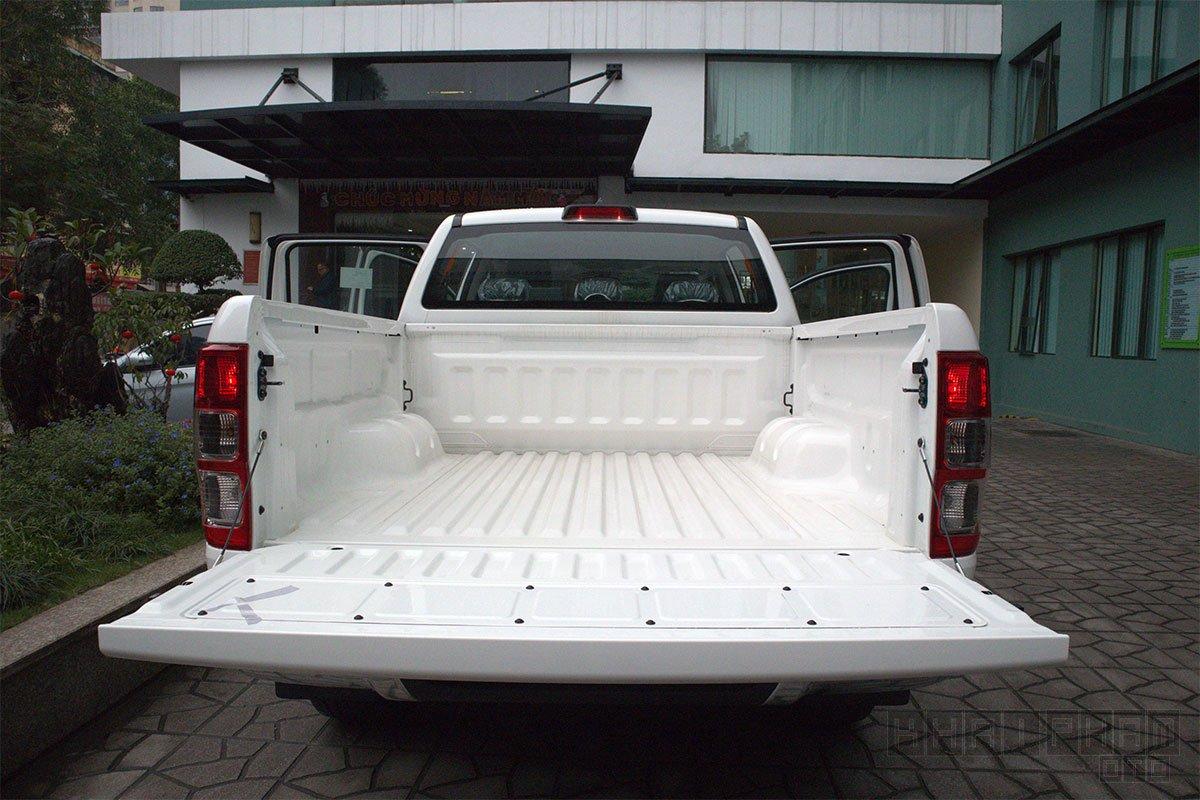 Ảnh chụp thùng xe Ford Ranger Limited 2020