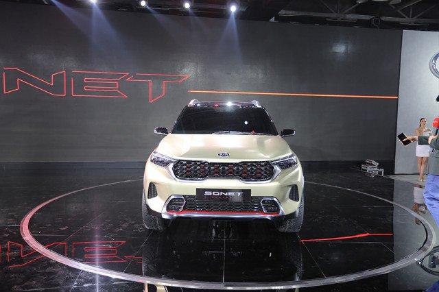 [Auto Expo 2020] Kia Sonet 2020 với mũi hổ