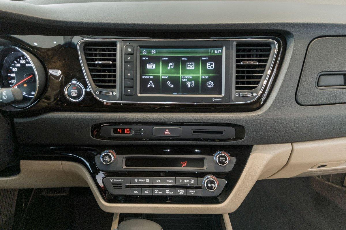 Thông số nội thất xe Kia Sedona 2020 tại Việt Nam a4