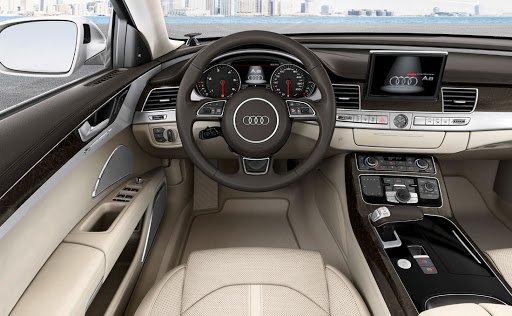 Nội thất xe Audi A7 2020