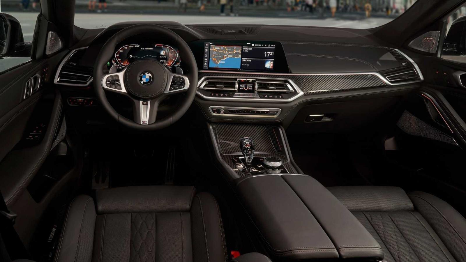 Nội thất xe BMW X6 2020